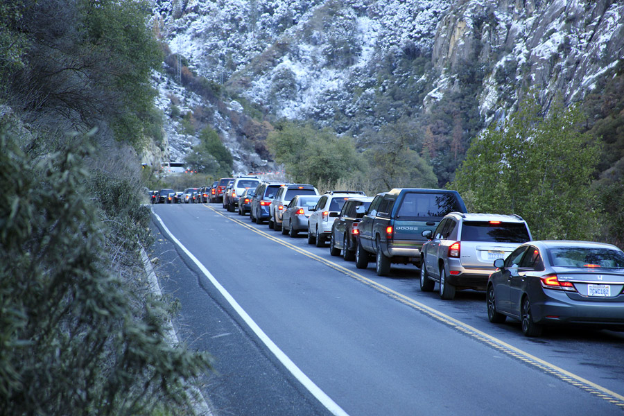 YOSEMITE ENTRANCE GATE LINE